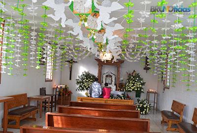 Interior de la Ermita del Santo Niño de Numarán