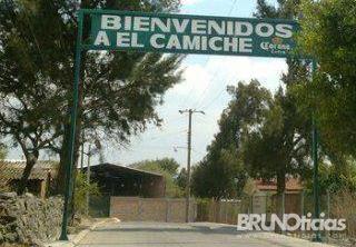 Acceso a la comunidad de El Camiche, Yurécuaro