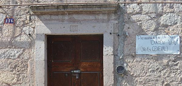 Primer domicilio donde estuvo la Esc Prepa Popular Tierra y Libertad