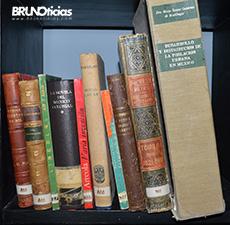 Libros rescatados por Brunoticias