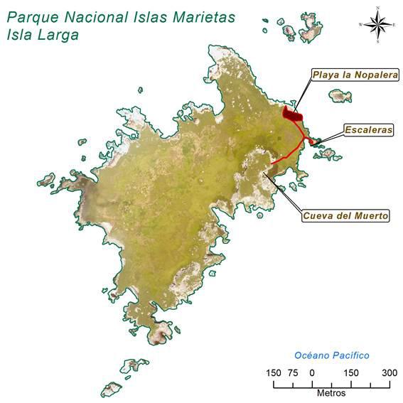 Plano Islas Marietas