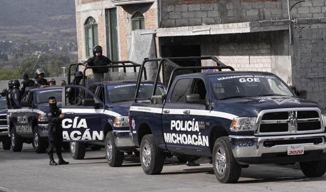 SSP Policía Michoacán