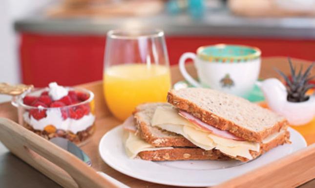 Buen desayuno perdida de peso