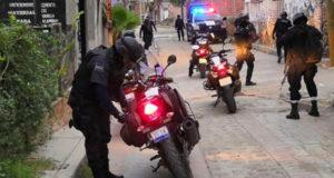 Elementos de la Policía llegaron a La Rinconada tras la balacera