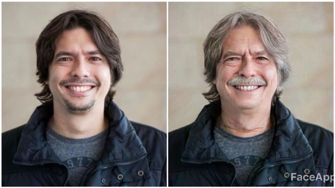 FaceApp advertencias