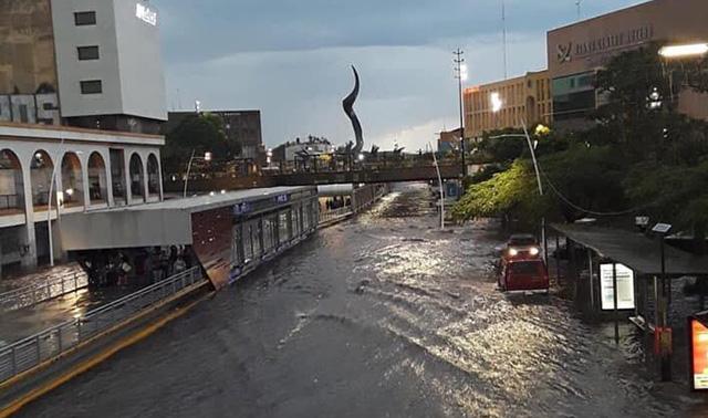 Tormenta Guadalajara 8 de julio 2019