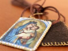 escapulario Virgen del Carmen