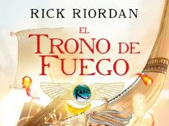 Trono de Fuego uno de los libros para niños y niñas en vacaciones