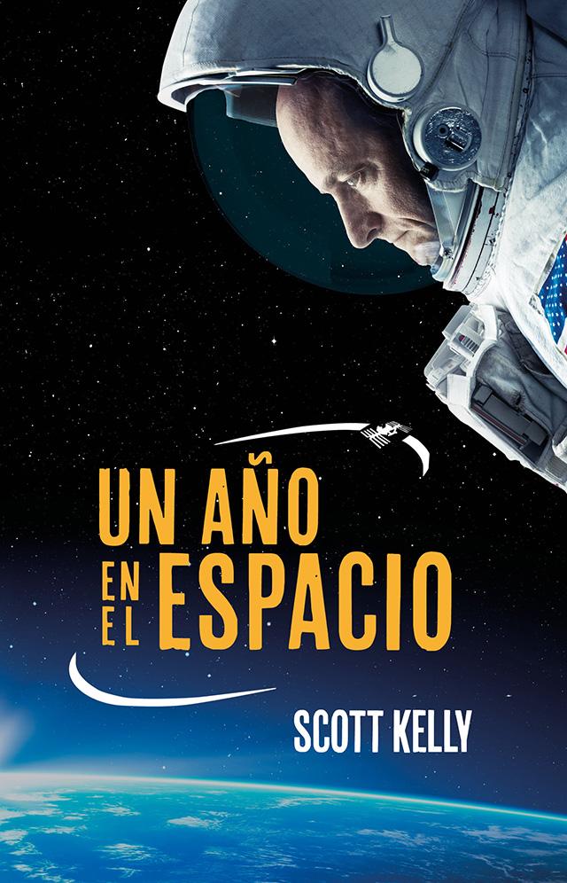 Libros un año en el espacio.