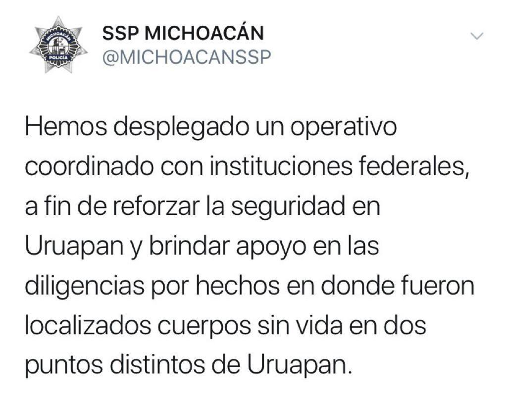 Sicarios asesinan y descuartizan a 19 personas en Uruapan, Michoacán