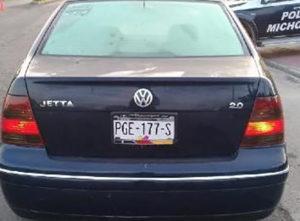 robado vehículo Yurécuaro