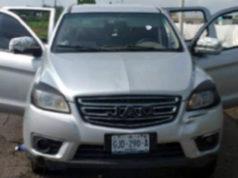 Camioneta recuperada en Ixtlán
