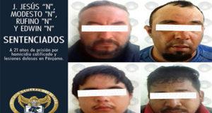 HOMICIDAS SENTENCIADOS