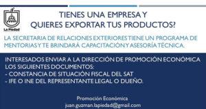 Exportar La Piedad