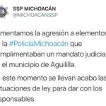 Aguililla Twitter SSP