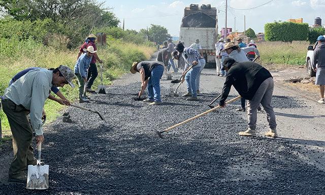 La Soledad camino rural Ecuandureo