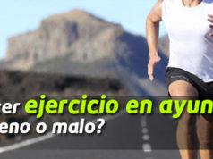 ayunas ejercicio