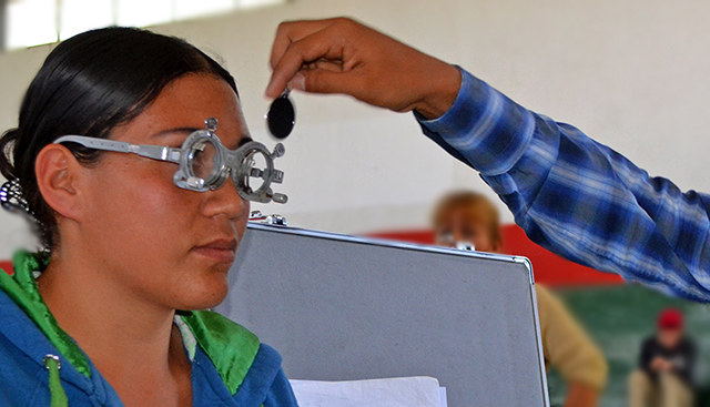 campaña de lentes