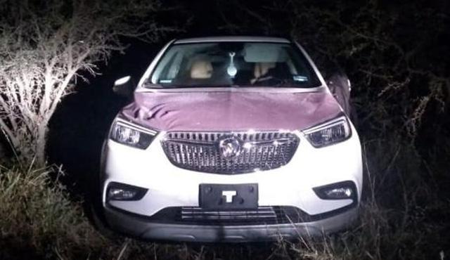 Los Charcos auto robado