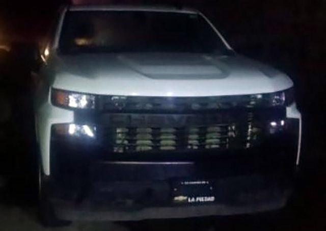 reporte de robo camioneta
