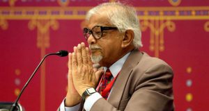 Arun Gandhi en la FIL