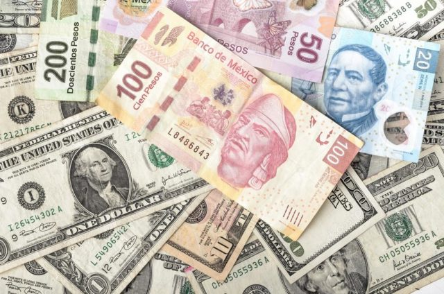 dólares pesos