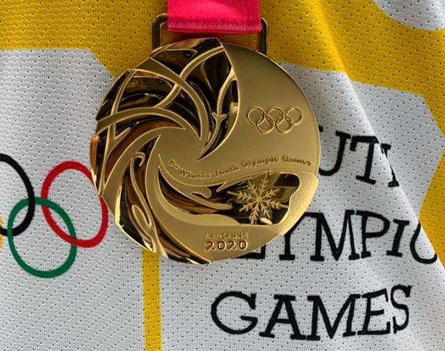 Hockey medalla de oro