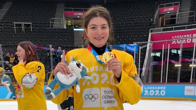 Hockey sobre hielo Laura Wilson