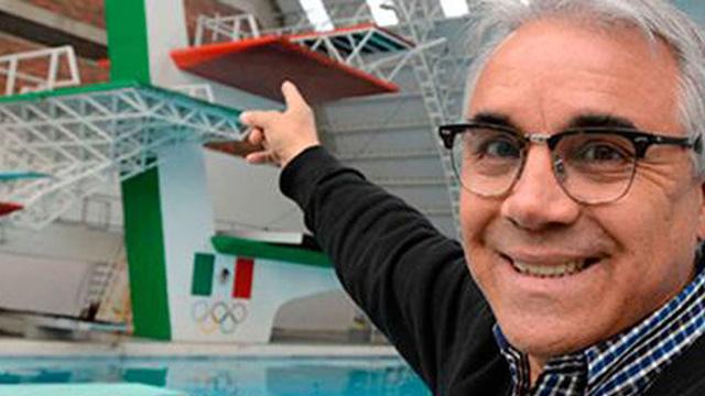 Carlos Girón Clavadista