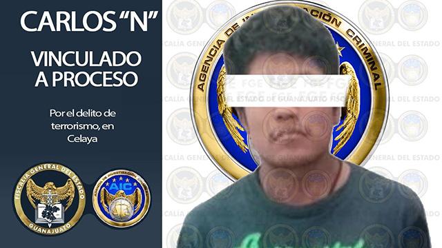 Bomba Celaya Detenido FGE