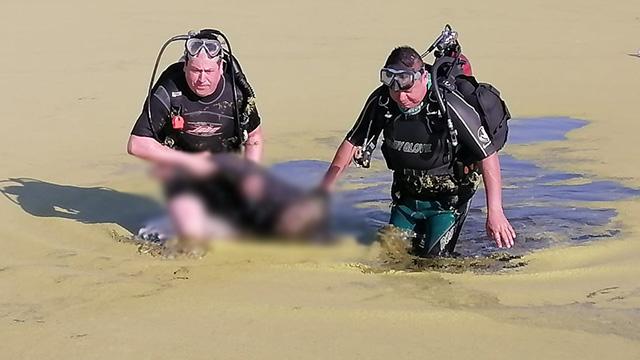 5 de Oros presa ahogado