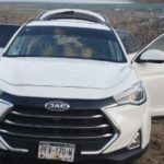 SUV robo de vehículos JAC