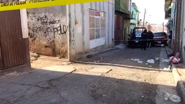 homicidio callejón Independencia Pénjamo