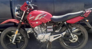 moto robada El Cuitzillo