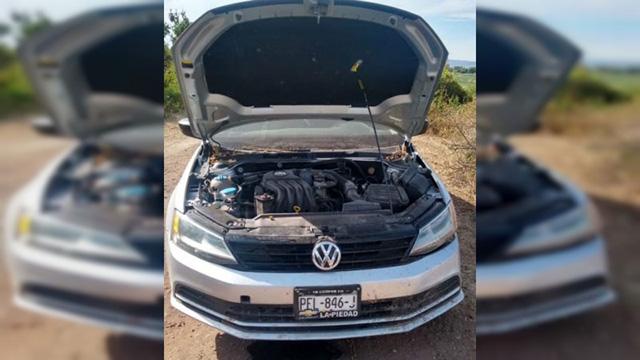vehículos robados Angamacutiro