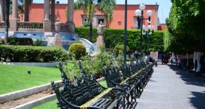 COVID La Piedad plaza