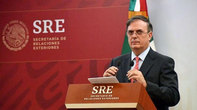 SRE Marcelo Ebrard