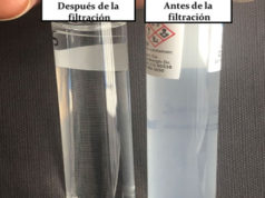 membrana filtro agua UdeG