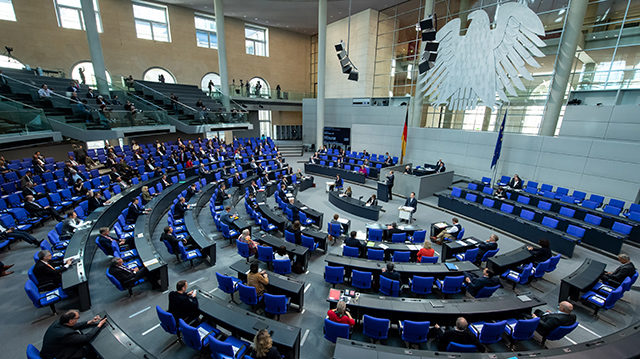 diputados Alemania Bundestag