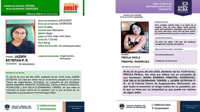 Mujeres Desaparecidas Angamacutiro 2