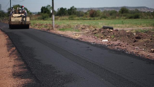 Melchor Ocampo re asfaltado