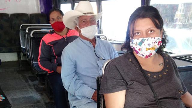 cubrebocas Transporte Público La Piedad