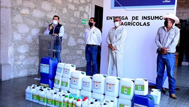 insumos agricultura sustentable La Piedad