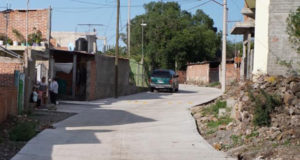 pavimento Los Guajes