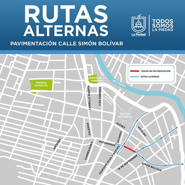 calles cerradas centro La Piedad 2
