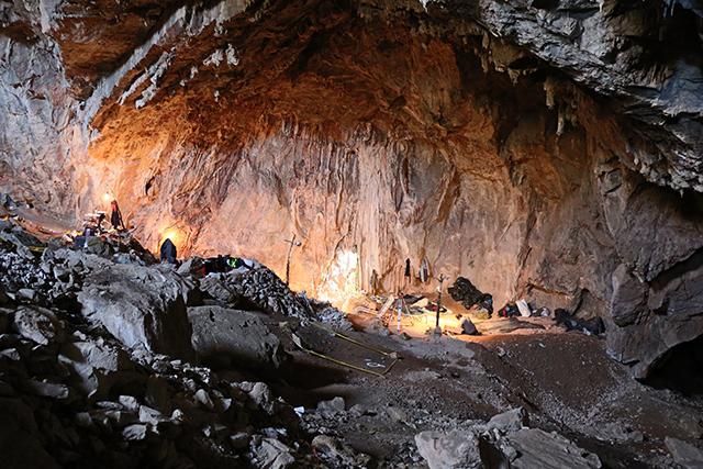 Cueva del Chiquihuite 1