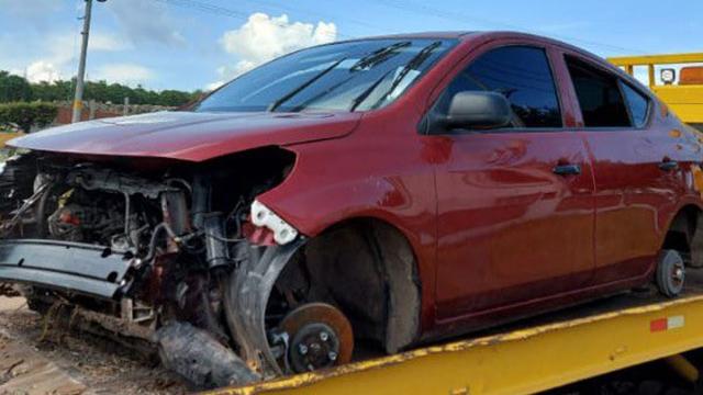 Yurécuaro vehículos robados 3