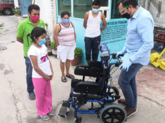 Hugo Anaya silla de ruedas