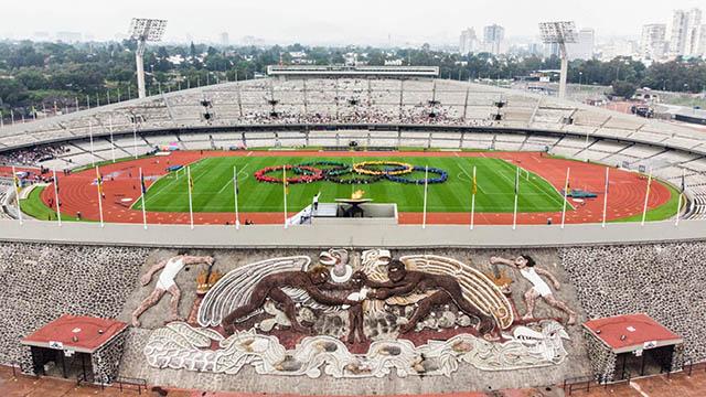Estadio Olímpico Universitario 4