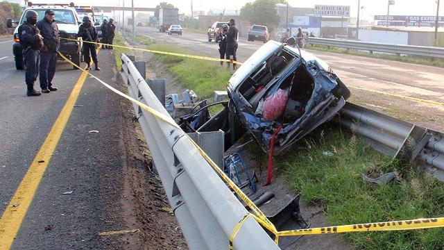 Automovilista muerto Pénjamo 1